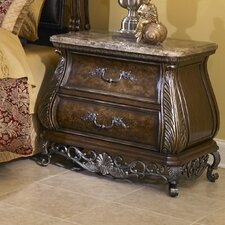 Birkhaven 2 Drawer Nightstand by Pulaski Furniture