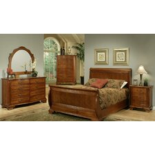 American Heritage Sleigh Customizable Bedroom Set by AYCA Furniture