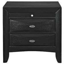 Harrison 2 Drawer Nightstand by Modway