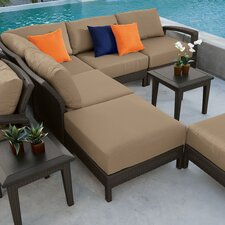 Evo Sectional with Cushions by Tropitone