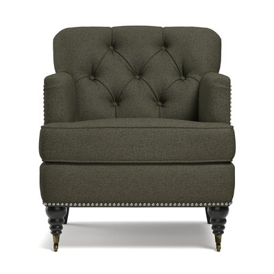Bonita Springs Armchair Upholstery: Basil Green by Beachcrest Home