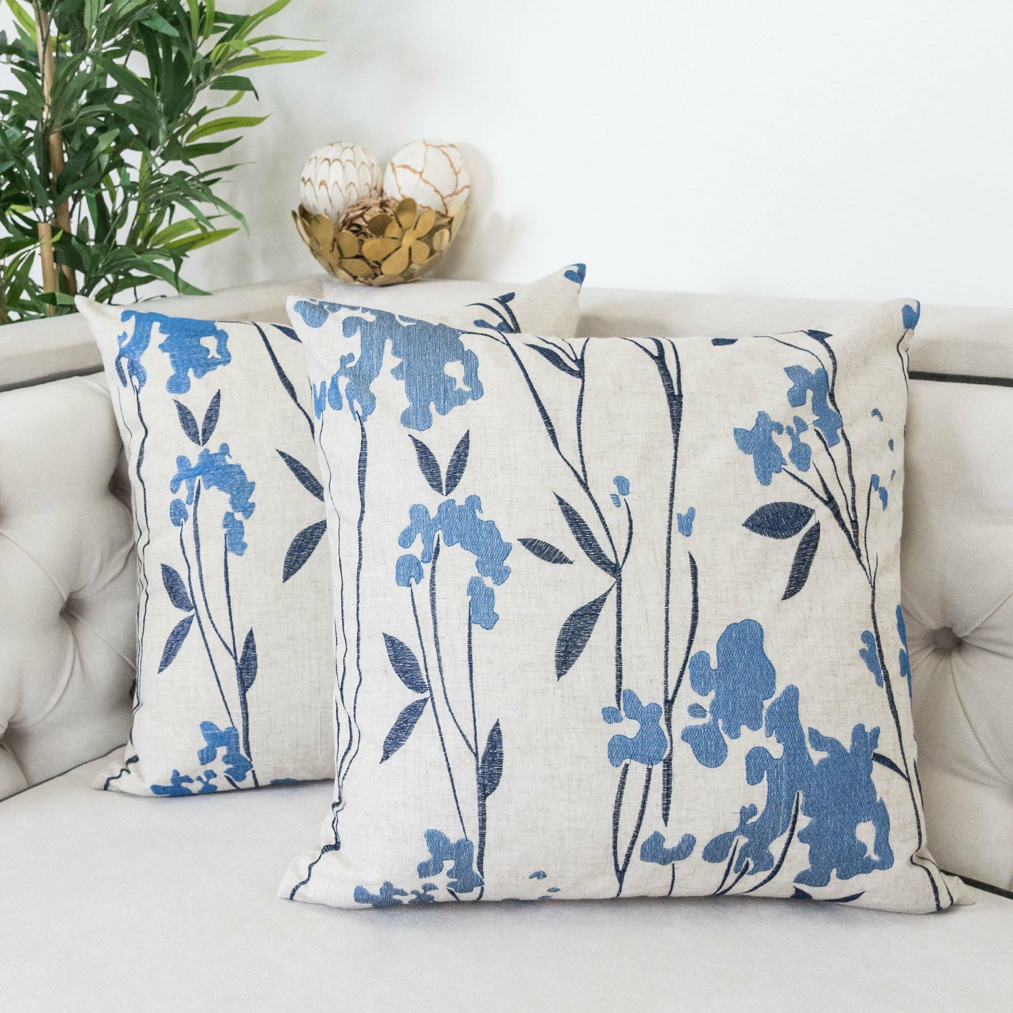Canora Grey Schuylerville Flower Indoor Outdoor Throw Pillow Wayfair