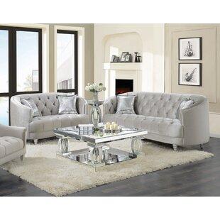 Taurus 2 Piece Living Room Set by Rosdorf Park