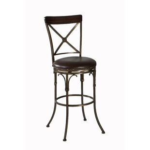 Baily 26 Swivel Bar Stool Charlton Home