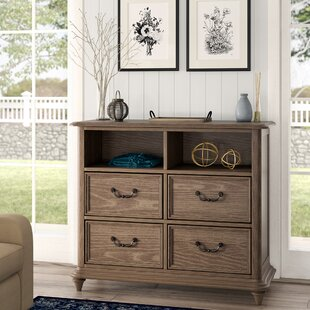 Calila 4 Drawer Media Chest