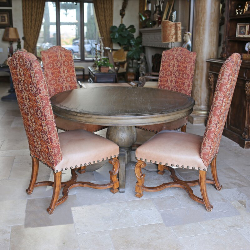 Lacour Reclaimed Wood Round Dining Table