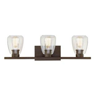 Compare & Buy La Habra Heights 3-Light Vanity Light By Trent Austin Design