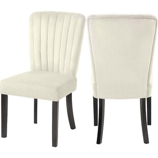 Samiyah Upholstered Dining Chair (Set of 2) by Everly Quinn