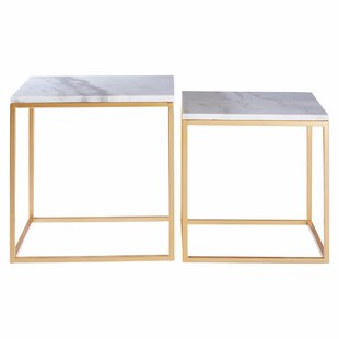 Schaefer 2 Piece Side Table By Canora Grey