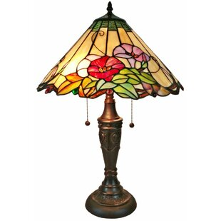 Deals Floral 24 Table Lamp By Amora Lighting