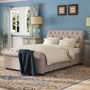 Elba Upholstered Bed Frame By Ophelia & Co.
