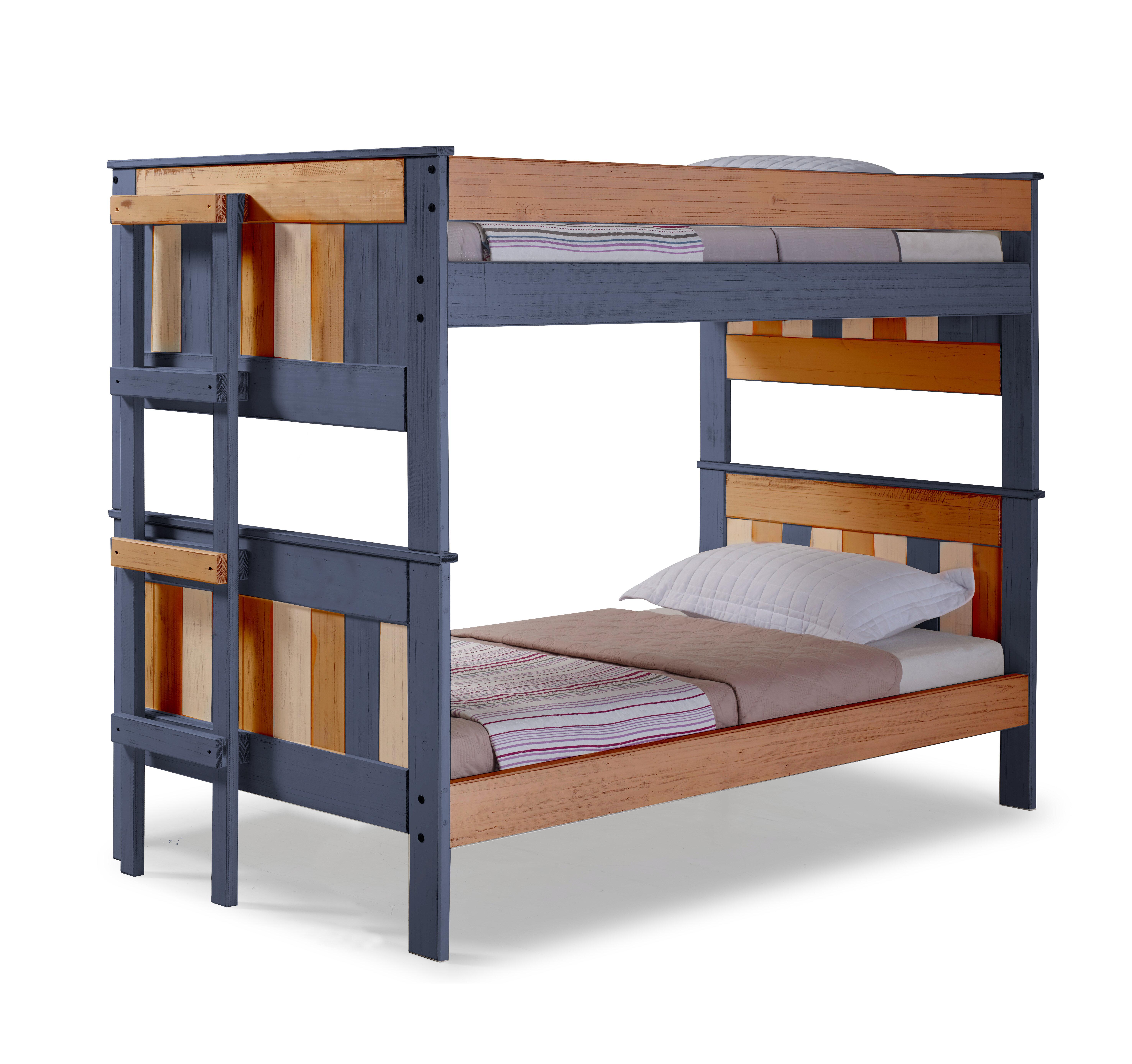 Picture of: Harriet Bee Chavez Stackable Bunk Bed