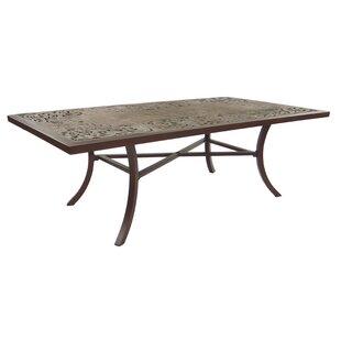 Breton Classical Aluminum Dining Table