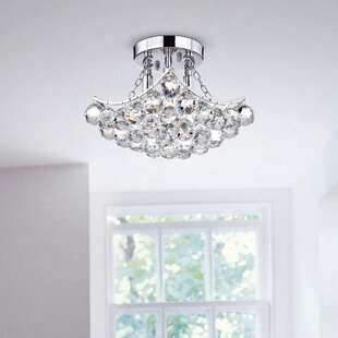 Broadbent 4-Light Semi Flush Mount by House of Hampton