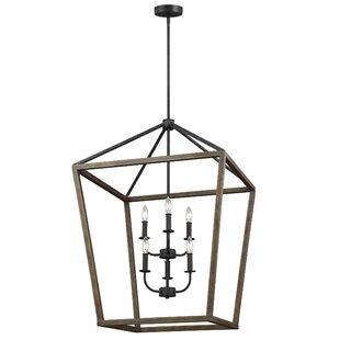 Gracie Oaks Natarsha 6-Light Lantern Pendant