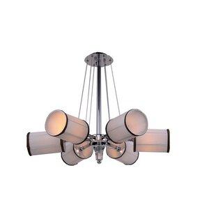 Rosdorf Park Mcdowell 6-Light Sputnik Chandelier
