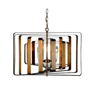 Seevers 4-Light Geometric Chandelier