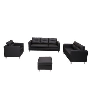 Find Clarence 4 Piece Living Room Set by Wade Logan Reviews (2019) & Buyer's Guide