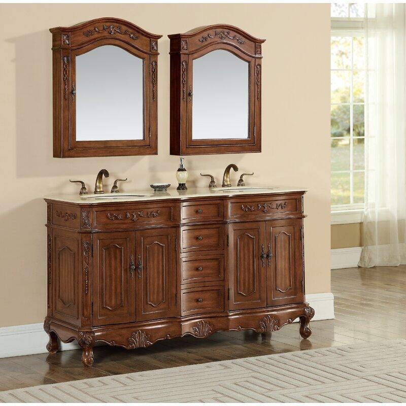 Astoria Grand Isadora 60 Double Bathroom Vanity Set Reviews Wayfair
