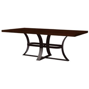 Alexandria Rectangle Dining Table by 17 Stories
