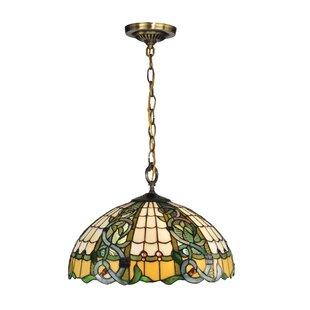 Dale Tiffany Asure 3-Light Dome Pendant