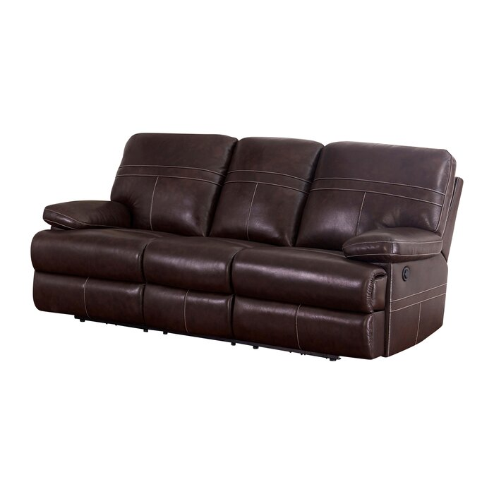 Admirable Koehn Leather Reclining Sofa Pabps2019 Chair Design Images Pabps2019Com