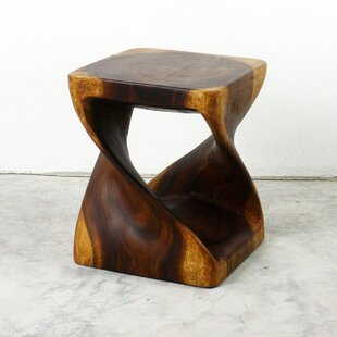 Lawncrest Twist End Table