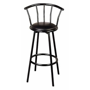 Harden Distressed Metal 30 Bar Stool (Set of 2) by Winston Porter