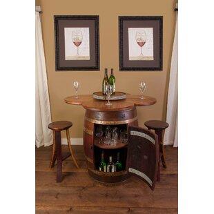 Wine Barrel 6 Piece Dining..