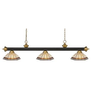 Fleur De Lis Living Billington 3-Light Pool Table Light