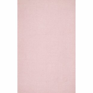 Arriaga Hand-Tufted Light Pink Area Rug