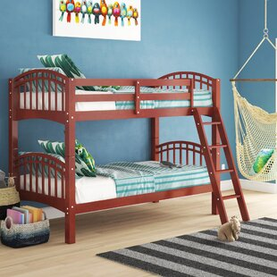 Kylen Twin Over Twin Bunk Bed by Harriet Bee