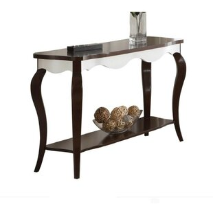 Dantzler Wood Rectangular Console Table by Charlton Home