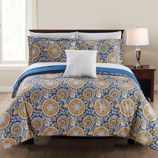Beaudry Reversible Comforter Set