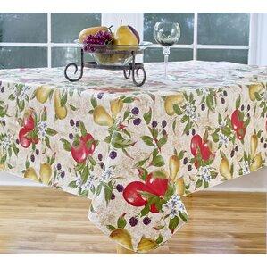 Perfect Everyday Fruits Vinyl Tablecloth