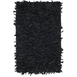 Compare Albany Hand-Knotted Black Area Rug By Zipcode Design