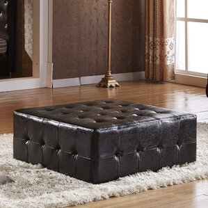 Tufted Cocktail Ottoman by Corzano Designs