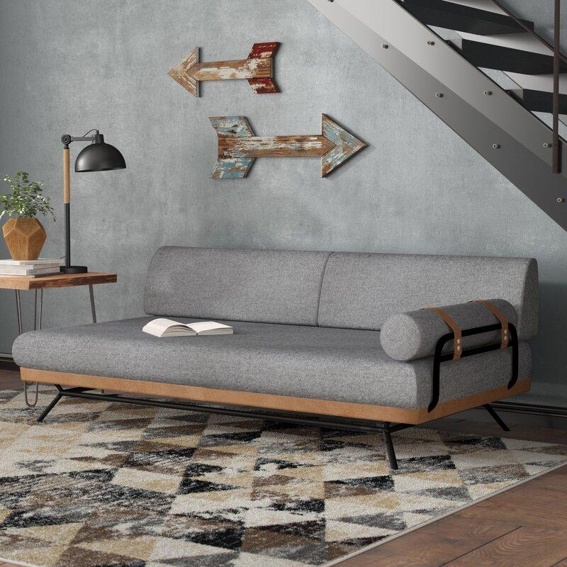 Union Rustic Aidan Sofa Bed & Reviews   Wayfair