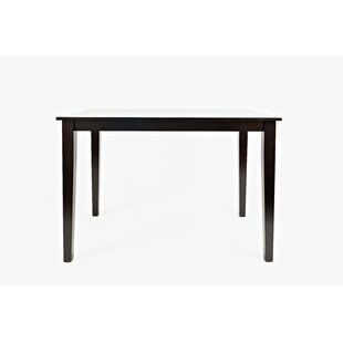 Charlton Home Huldah Wooden Counter Height Dining Table