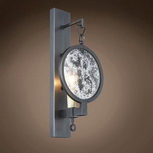 Cannata 1-Light Armed Sconce by Gracie Oaks