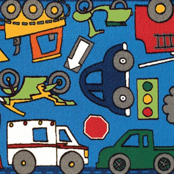 kids cars trucks trains rugs youll love wayfair