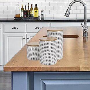 White Kitchen Containers | Wayfair