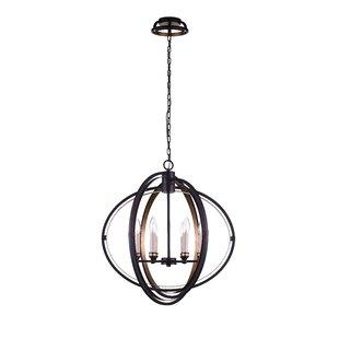 CWI Lighting 6-Light Globe Chandelier