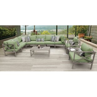 Carlisle 11 Piece Sectional Seating Group with Cushions