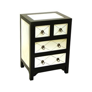 Elowen Mirror Chest by House of Hampton