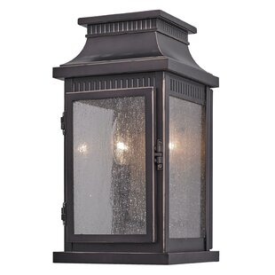 Mansard 2-Light Outdoor Flush Mount