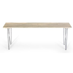 Slat Style Entry Table By Ghost River Furniture