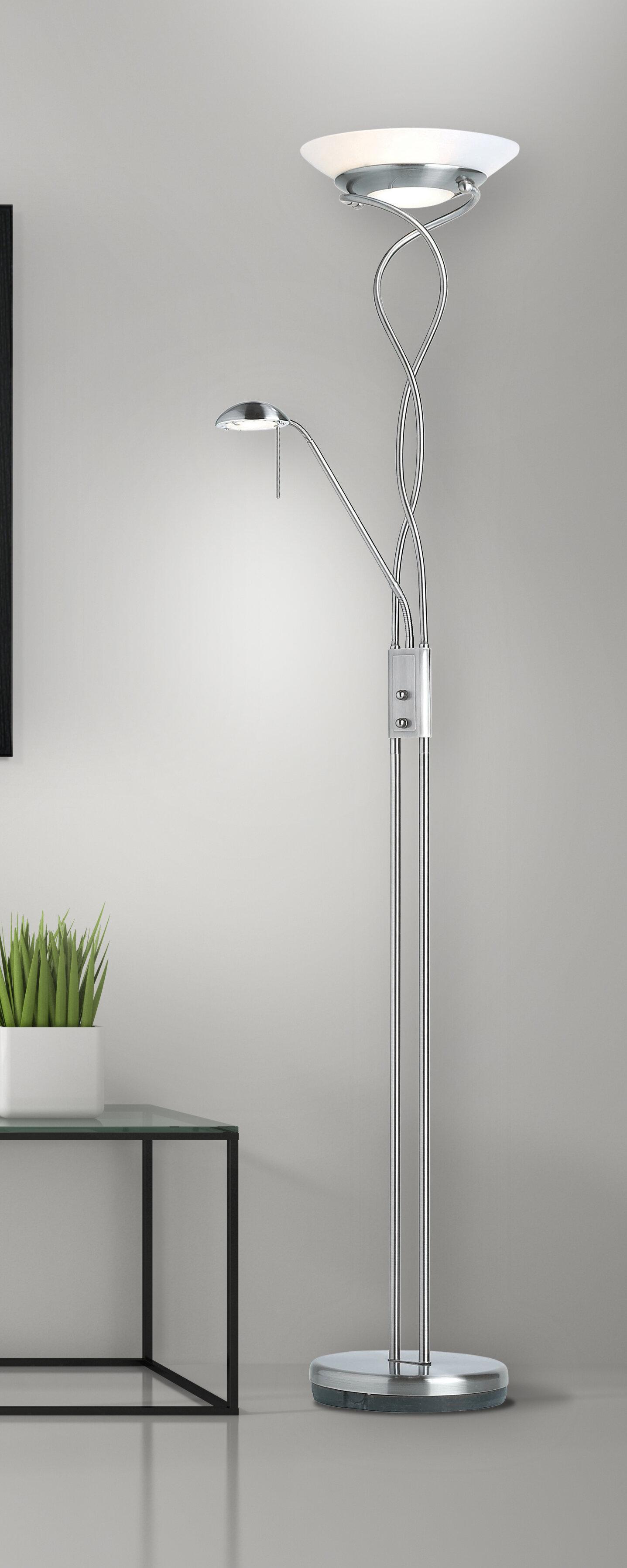Endon Lighting Monaco 182Cm Torchiere Floor Lamp & Reviews -