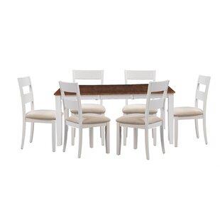 Alcott Hill Bennet 7 Piece Extendable Dining Set