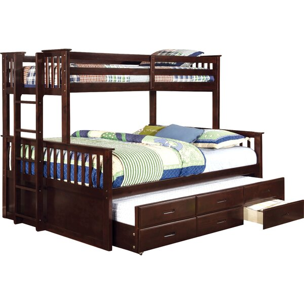 Twin Over Queen Bunk Bed | Wayfair